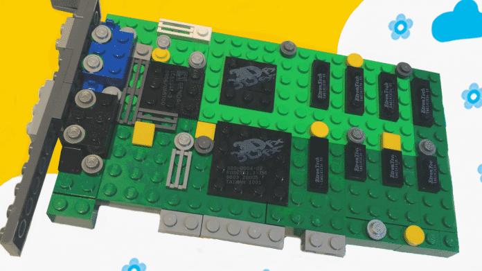 10.000 Unterstützer für eine Lego-Voodoo-Grafikkarte gesucht