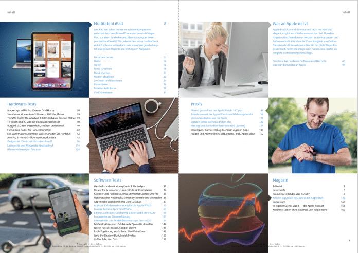 Mac & i Heft 2/2020: Inhaltsverzeichnis