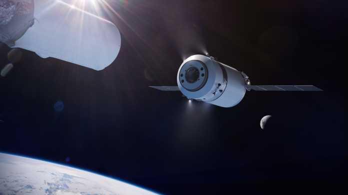 Rückkehr zum Mond: SpaceX soll Fracht zur Mond-Raumstation liefern