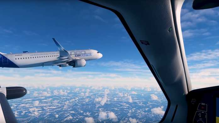 Microsoft Flight Simulator 2020 integriert Live-Traffic realer Flugzeuge