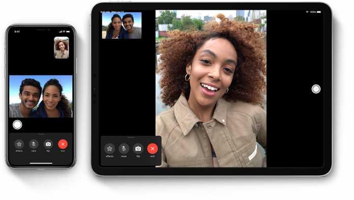 Zwischen neuer Hardware sind FaceTime-Verbindungen weiterhin möglich.