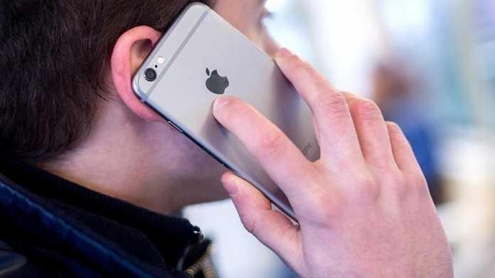 iPhone-Telefonat