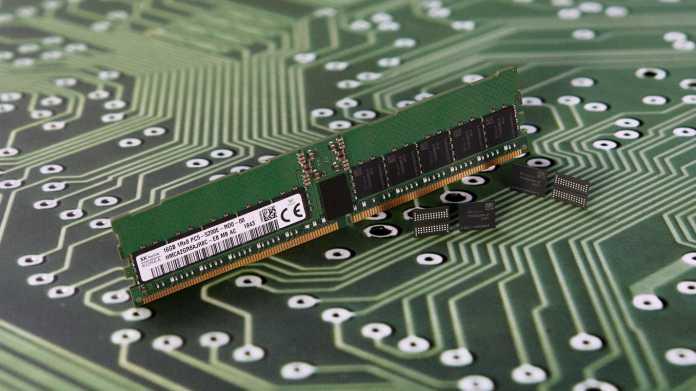 Speicherhersteller SK Hynix: Nächste SDRAM-Generation reicht bis DDR5-8400