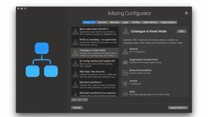 iMazing macht Apple Configurator Konkurrenz