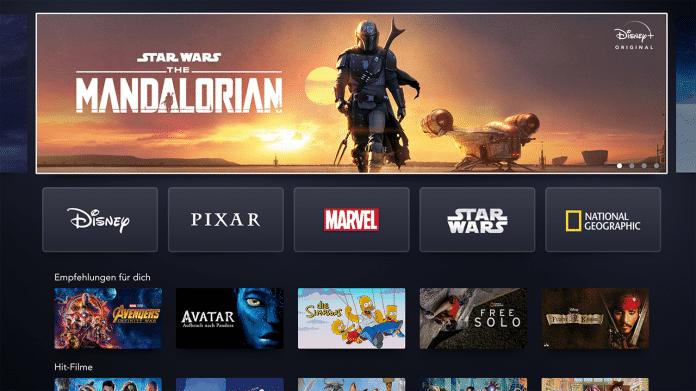 Disney+: deutsche Oberfläche und Details zu Originals