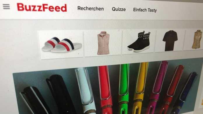 Buzzfeed Deutschland sucht Käufer