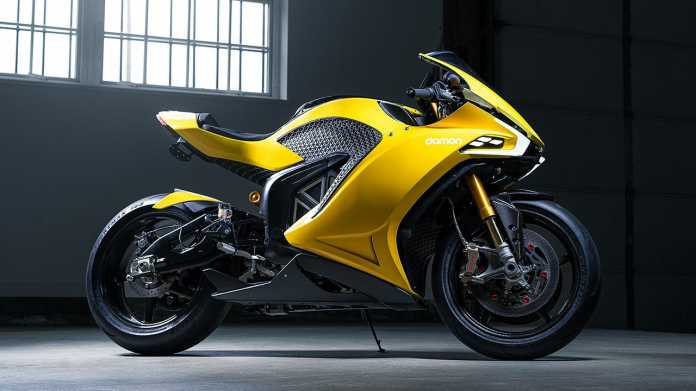 E-Motorrad Damon Motorcycles Hypersport: Blitzgescheit