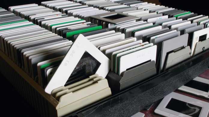 Richtig archivieren: So lagern Sie Dias richtig