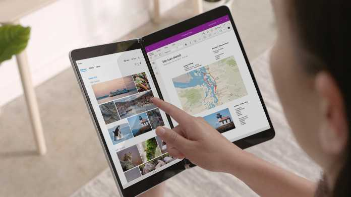 Bericht: Microsofts Surface Neo wird 2020 nicht fertig