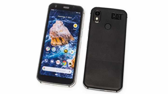 Outdoor-Smartphone Cat S52