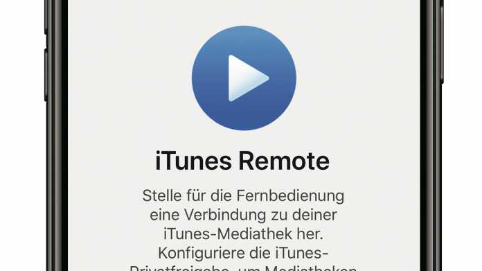 Tipp: iTunes-Remote-App für Musik unter macOS Catalina nutzen
