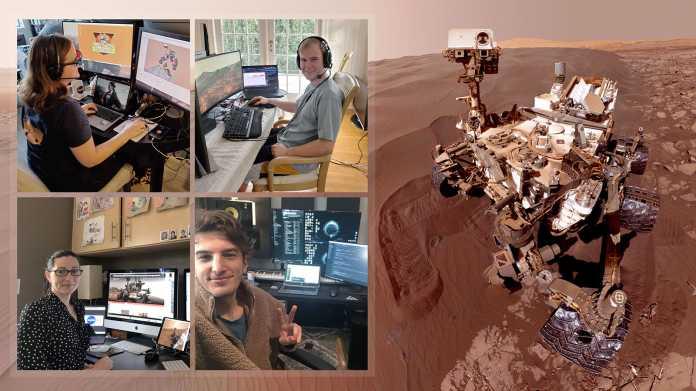 NASA-Rover Cuuriosity: Marsforschung aus dem Homeoffice