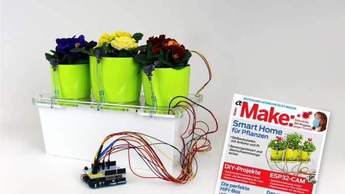 Smarter Bumenkasten mit Arduino Uno