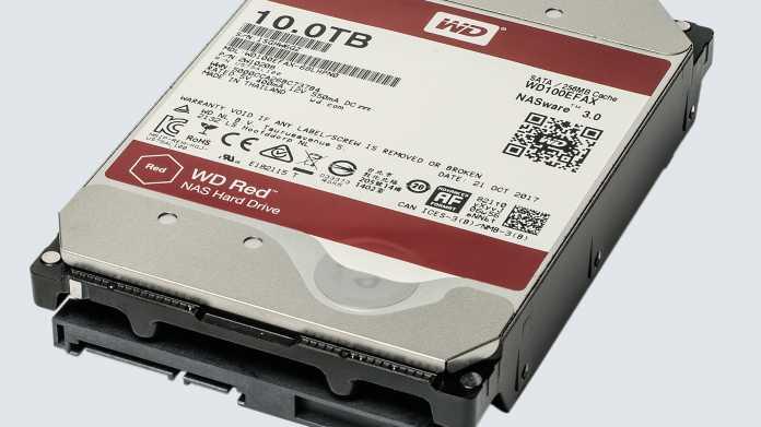Neuere Versionen der NAS-Festplatten WD Red führen zu NAS-Problemen