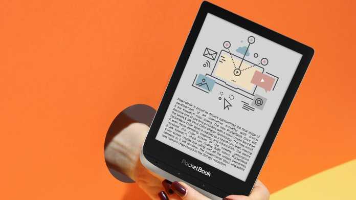 Pocketbook kündigt eBook-Reader mit Farbdisplay an