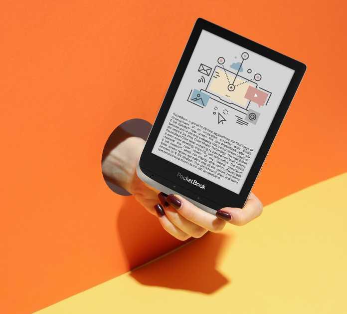 Der Pocketbook Color wäre eines der ersten modernen E-Book-Reader mit Farbdisplay.