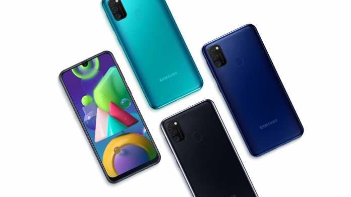 Galaxy M21: Samsungs Mittelklasse-Handy hat einen 6000-mAh-Akku