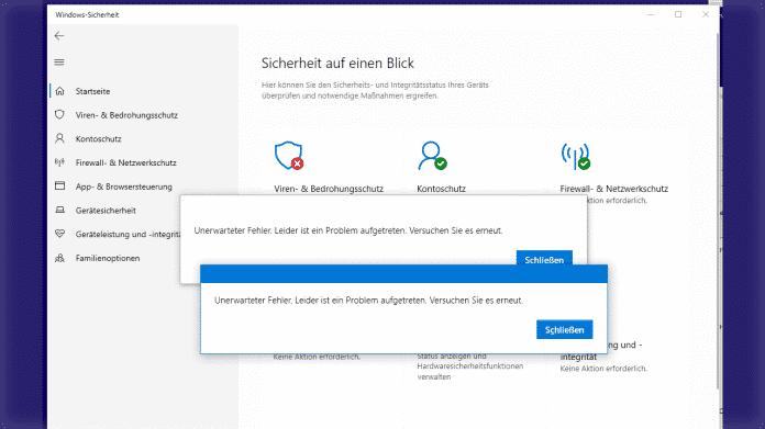 Windows-Nutzer aufgepasst: Ausfall des Virenschutzes mittels Update behoben