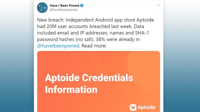 Play-Store-Alternative Aptoide leakt Daten zu über 20 Millionen Nutzeraccounts