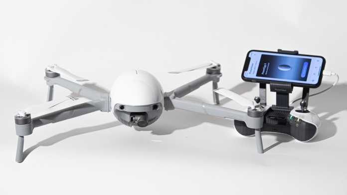 PowerVision PowerEgg X: Quadrokopter und Handheld-Kamera