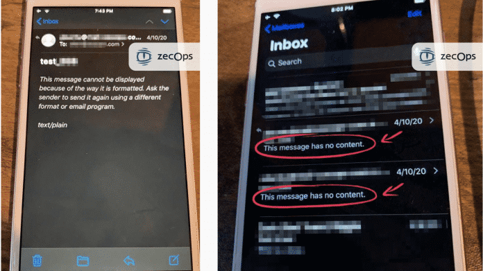 iPhones durch Zero-Day-Lücken in Apple Mail angreifbar