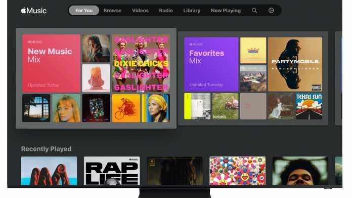 Samsung-TVs bekommen Apple Music