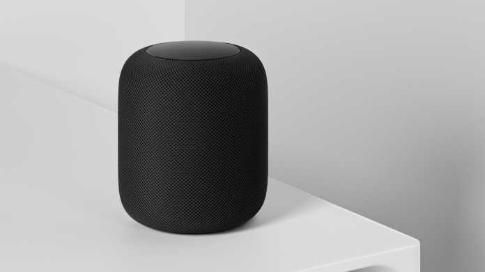 Apple forscht: Smart Speaker erfasst Umgebung durch stetes Lauschen