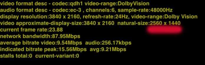 """Disney+ streamt in Deutschland aktuell mit """"4K Ultra HD"""" gekennzeichnete Titel bestenfalls mit der Auflösung 2560 x 1440 Pixel."""