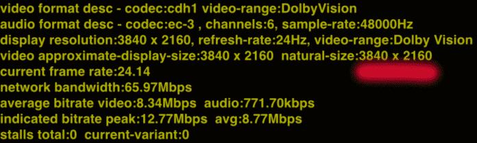 """Netflix Deutschland streamt 4K-Titel (hier """"Lost in Space"""") weiterhin in voller Auflösung, aber mit stark reduzierten Datenraten."""