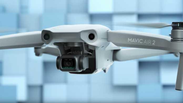 DJI Mavic Air 2: Bessere Kamera und 34 Minuten Flugzeit