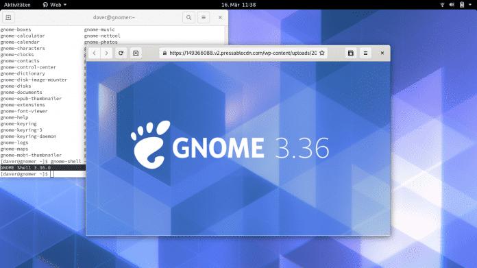 Linux-Desktop Gnome 3.36: Aufpolierte Oberfläche mit kürzeren Wegen