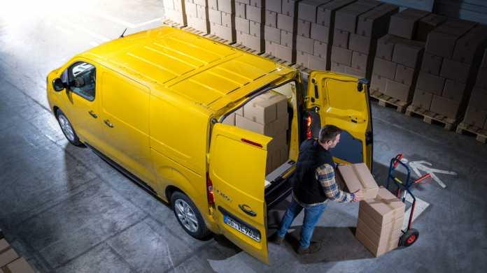 """Mehr als nur """"letzte Meile"""": Opels Transporter mit Batterieantrieb"""