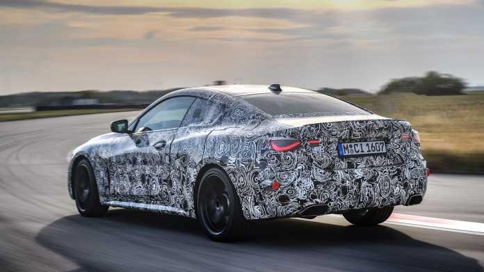 Probefahrt mit dem kommenden 4er BMW