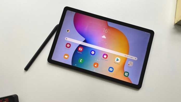 Samsung Galaxy Tab S6 Lite: Kampfansage ans iPad für die Schule