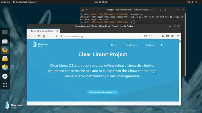 Ausprobiert: Clear Linux, Intels Linux-Distribution