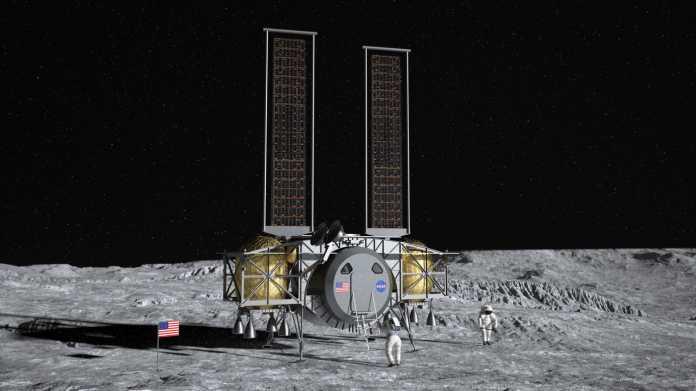 NASA beauftragt Bezos- und Musk-Unternehmen mit Mondlandefähre