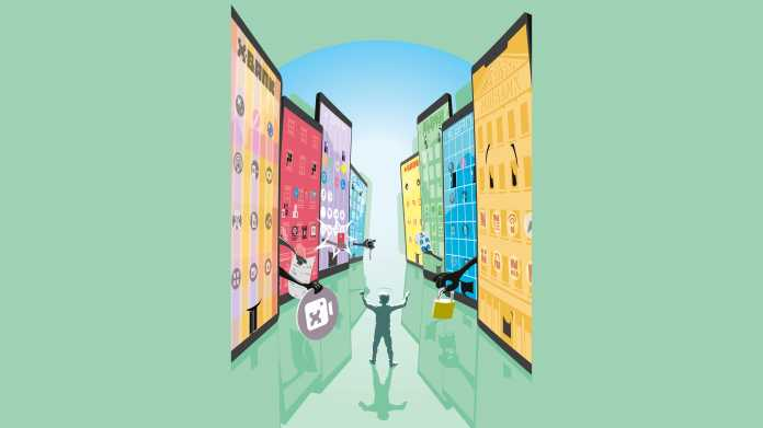 Banking und Bezahlen per App auf dem Smartphone