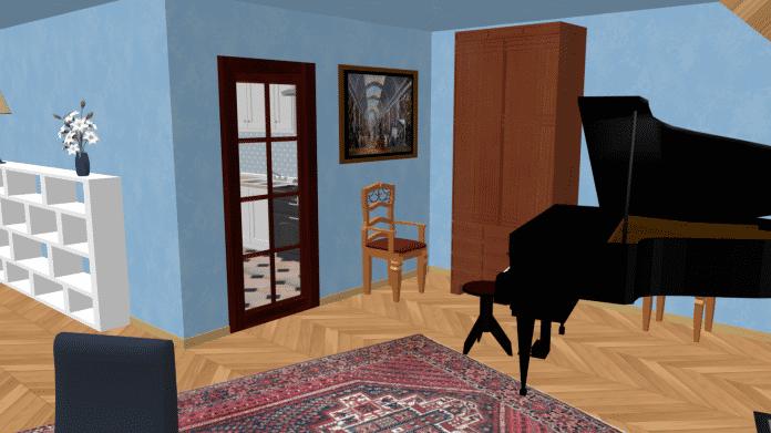 Sweet Home 3D: Wohnungen und Häuser am PC einrichten und besichtigen
