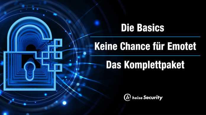 heise Security: 3 Webinar-Pakete für Security- und Datenschutz-Profis