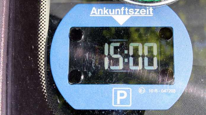 Elektronische Parkscheibe Park Lite