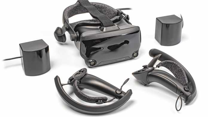 Virtual-Reality-Headset Valve Index im Test