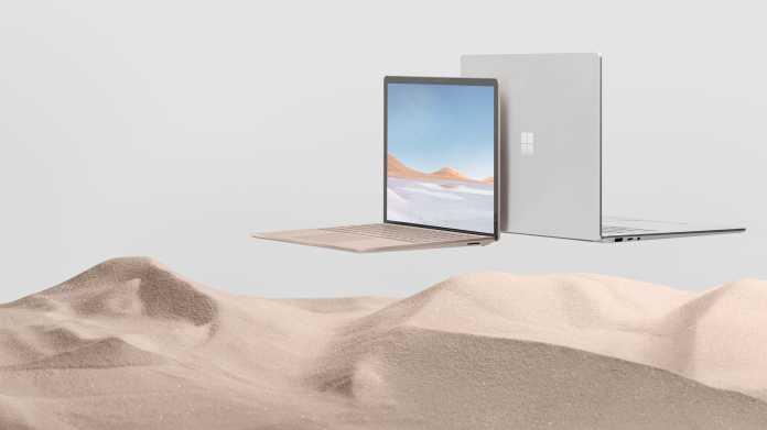 Haarrisse im Bildschirm: Microsoft repariert Surface Laptop 3 kostenlos