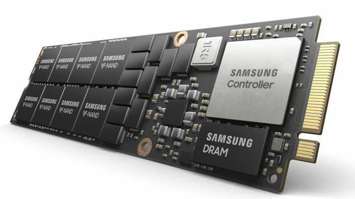 PCIe-4.0-SSD Samsung PM9A3: Flächen- und kostenoptimiert