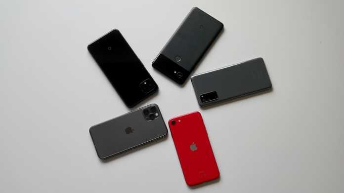 Kamera im Vergleich: iPhone SE 2020 gegen iPhone 11 Pro, Pixel 4 und Galaxy S20