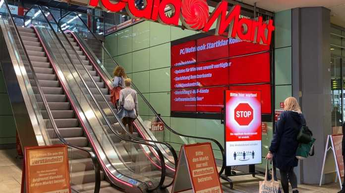 Nahezu alle Media-Markt- und Saturn Märkte in Europa wieder geöffnet