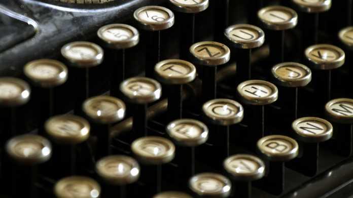 Schreibmaschine, Tastatur, Keyboard, Digitalisierung