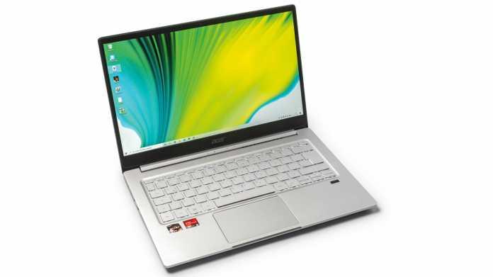 Acer-Notebook Swift 3 mit AMD Ryzen 4000U