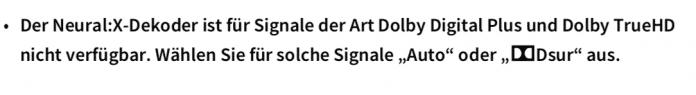 Auf seiner Website verliert Yamaha zu der Sperre bei den AV-Receivern kein Wort. In der Anleitung taucht ein entsprechender Hinweis auf.(Bild: Yamaha (Screenshot))