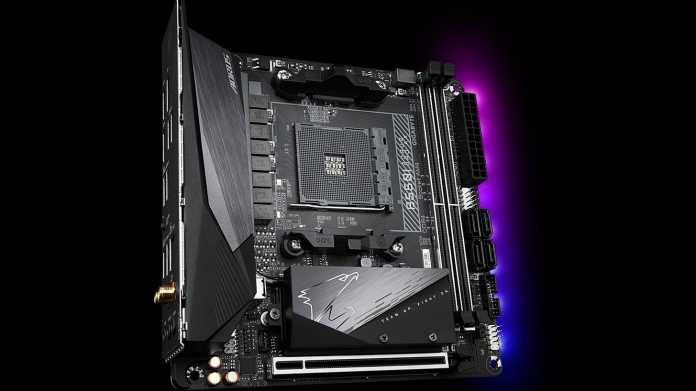 AMD-Ryzen-Kombiprozessoren: B550-Mainboards mit HDMI 2.1