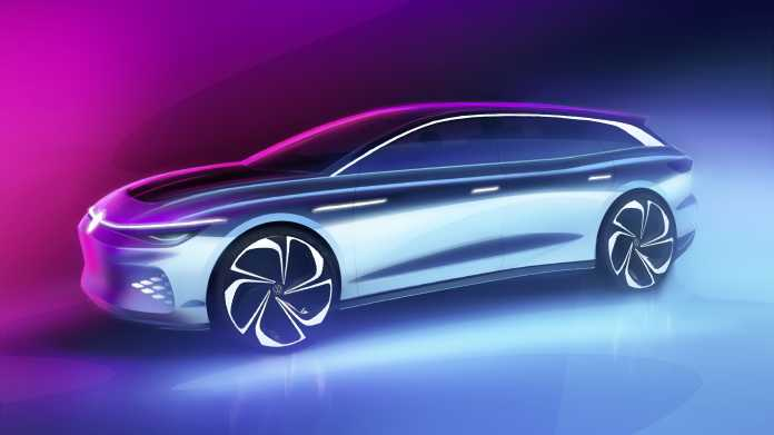 """Elektroauto: Volkswagens """"Variant"""" von morgen heißt ID. Space Vizzion"""